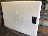 "4'6"" double memory foam mattress"