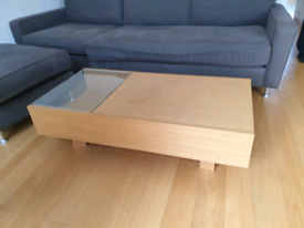 Lovely coffee table. Excellent condition. Free delivery