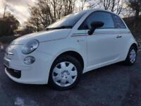 2010 Fiat 500 1.2 Pop 3dr (start/stop)