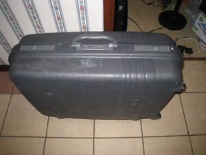 Large Heavy Duty Hard Shell quality Suitcase Luggage w/lock&keys