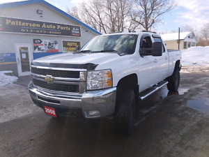 2008 chevy silverado 4x4 2500 lifted diesel cert etested