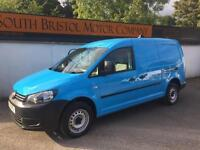 2011 11 FACELIFT VOLKSWAGEN CADDY MAXI 1.6 TDI 102PS 1 OWNER 80K FSH BLUE