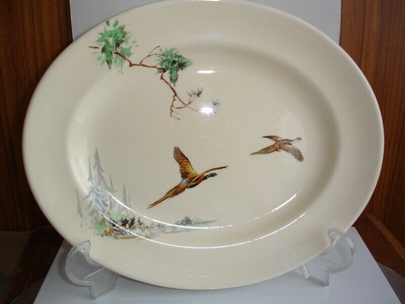"""Royal Doulton """"The Coppice"""" D5803 Oval Serving Platter"""