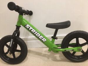 STRIDER  12 Sport balance bike - Almost new