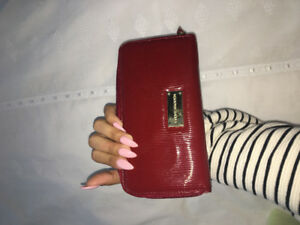 Steve Madden Wallet for $15 (Red with gold interior) new !