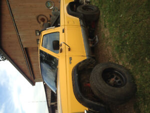 Lifted Ford Ranger Parts or mud Truck