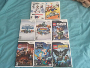 Wii Games Lot