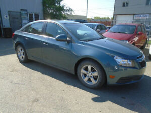 $5,295.00   2012 Chevrolet Cruze LT Turbo 4 door