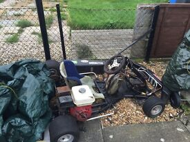 GX160 adults go kart