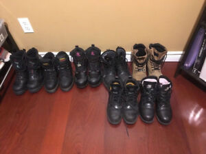Selling Various Women's Safety Boots (used) Between Sizes 7-8
