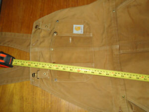 ******    XL CARHARTT INSULATED   COVERALLS   ******