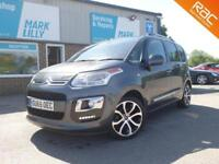 2015 Citroen C3 Picasso 1.6BlueHDi 100ps Exclusive £20 TO TAX DIESEL LOW MILES