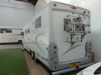 *NOW SOLD * FRANKIA I840 A CLASS TAG AXLE LHD ISLAND BED 3.0 LTR FULLY LOADED