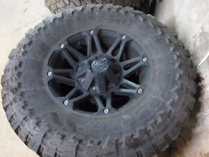Mayhem Rims and Toyo M/T Open Country Tires