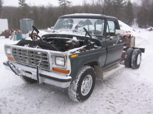Green 78 F-350 Ford
