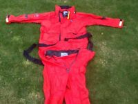 Sailing Yachting Foul Weather Offshore Jacket & Trousers Waterproof Size Men's XXL