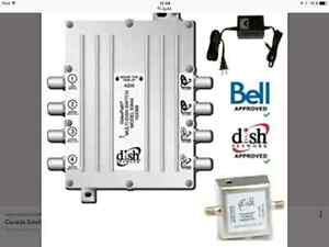 Multi dish switch antenne express vue sw44