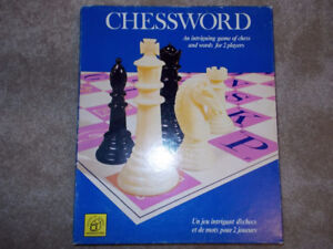 Chessword board game