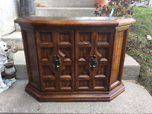Beautiful Solid Wood Hall Cabinet