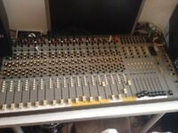 Seck 1882 mixing desk consol 8 bus vintage analogue