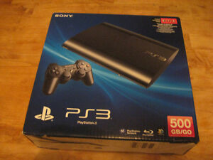 "PS3 "" BOX ONLY "" SLIM VERSION Cambridge Kitchener Area image 3"