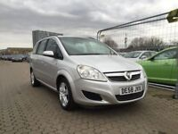 Vauxhall Zafira petrol full auto 1 former lady owner FSH finance available