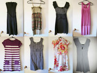 Dresses, shirts, body suit, boots - $10 each or three for $25