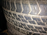 4 Motormaster All Weather tires on rims