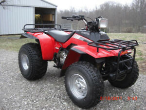 Looking for a Honda Fourtrax 250