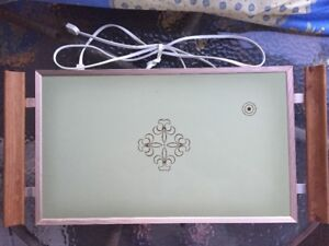 Vtg Cornwall Electric Warming Hot Tray / Plate Warmer / 1123