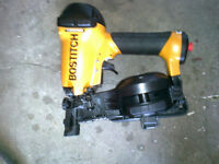 brand new unused -  BOSTITCH air roofing nailer
