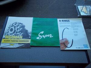 Warman Slurry Pumping, O Ring and Lab Equipment Handbooks