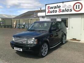 2005 LANDROVER RANGE ROVER SPORT 4.2L AUTOMATIC FULL SERVICE HISTORY
