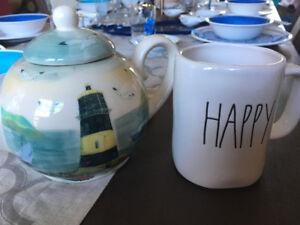 Rae dunn mug happy
