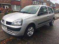 2006 Renault Clio 1.1 campus 3dr full service history low insurance great mpg