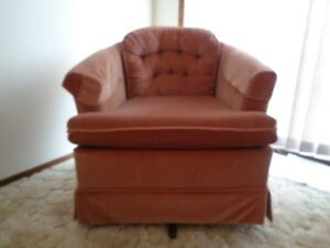 Two Swivel/Rocker chairs