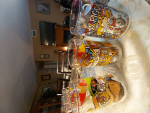 3 The Muppets Collector Glasses 1981