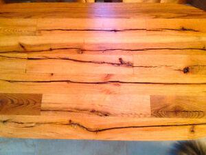 table en bois de grange Saint-Hyacinthe Québec image 4