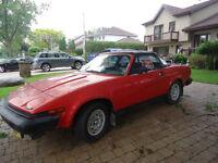 1980 Triumph TR-6 Cabriolet