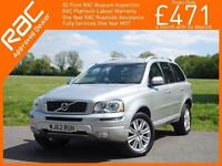 2012 Volvo XC90 2.4 D5 Turbo Diesel 200 BHP Executive AWD 7-Seater Geartronic Au