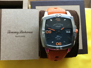 NEW TOMMY BAHAMA  Relax Sports Watch in Gift Box & Warranty