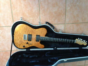 2008 Fender USA Telecaster Deluxe Quilt Maple Top (QMT)