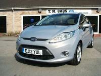 2012 Ford Fiesta 1.6TDCi ECOnetic Titanium 5d **Tax Free / New MOT**