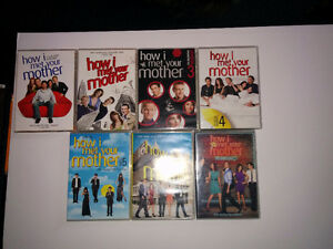 How i met yours mother season 1 to 7 Anglais