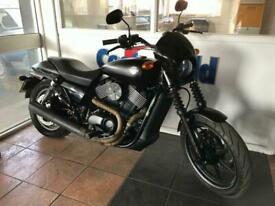 Harley-Davidson Street XG 750 Low Mileage, Satin Black !!