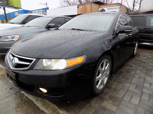 2008 Acura TSX w/Nav/6 speed manual/NO ACCIDENT