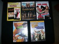 COMEDY DVD MOVIE BUNDLE                   FOR SALE