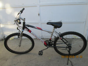 Two Mountain bikes $50 each