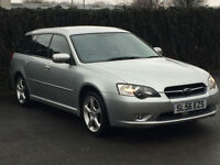 2006 '56' Subaru Legacy 2.0 R Sports Tourer, 5 Door Estate, Petrol, 4WD, AWD.