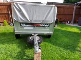 Car trailer camping trailer Erde 102